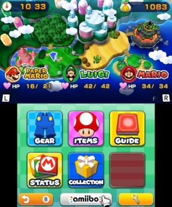 Mario Luigi Paper Jam Bros Nintendo 3ds Review Page 1 Cubed3
