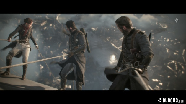 Screenshot for The Order: 1886 on PlayStation 4