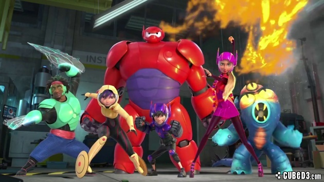 Image for Feature | Lights, Camera, Action! – Big Hero 6 (Movie Review)