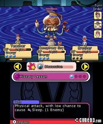 Screenshot for Citizens of Earth on Nintendo 3DS