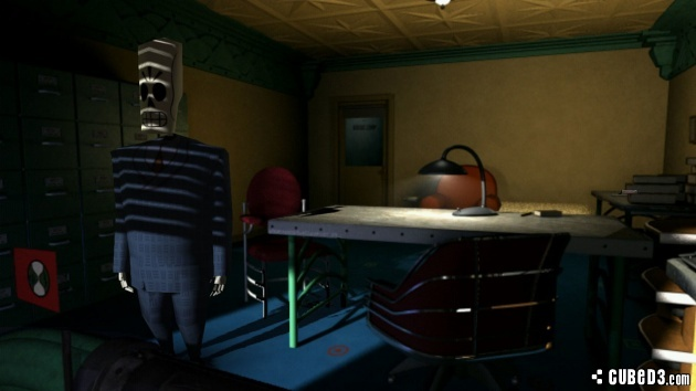Screenshot for Grim Fandango Remastered on PlayStation 4