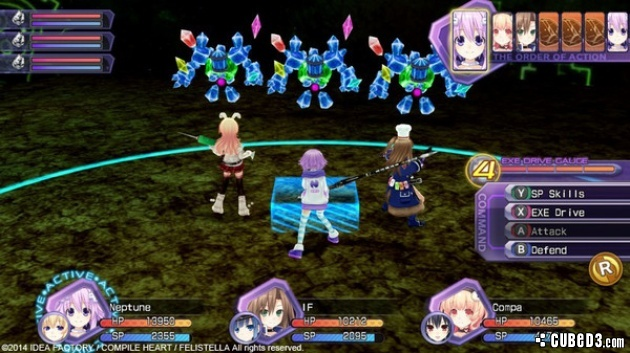 Screenshot for Hyperdimension Neptunia Re;Birth1 on PC