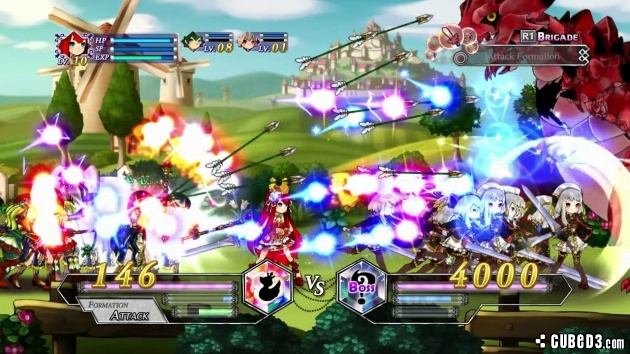 Screenshot for Battle Princess of Arcadias on PlayStation 3