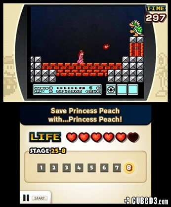 Screenshot for Ultimate NES Remix on Nintendo 3DS