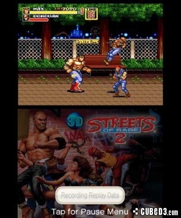Screenshot for 3D Streets of Rage 2 on Nintendo 3DS