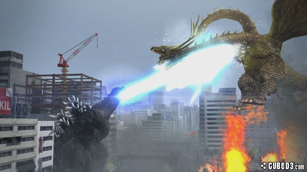 Screenshot for Godzilla on PlayStation 4
