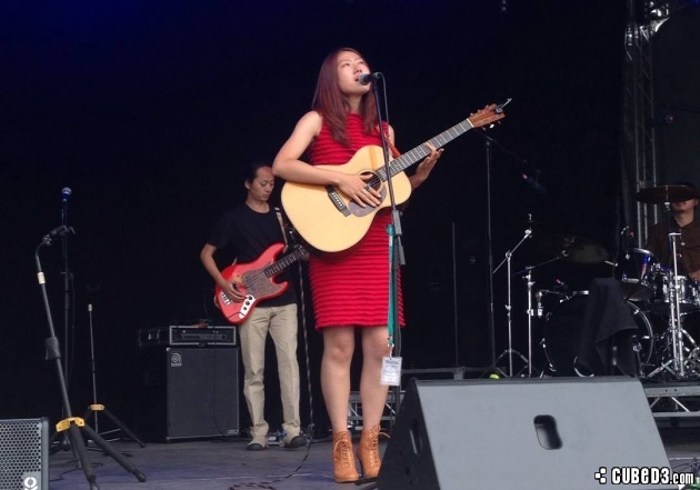 Image for Event Review | Gonne Choi at Glastonbury 2015 (MusiCube)