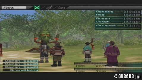 Screenshot for Suikoden III on PlayStation 2