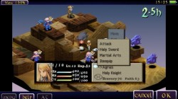 Screenshot for Final Fantasy Tactics: The War of the Lions - click to enlarge