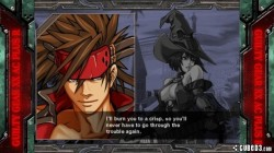 Screenshot for Guilty Gear XX Accent Core Plus R - click to enlarge