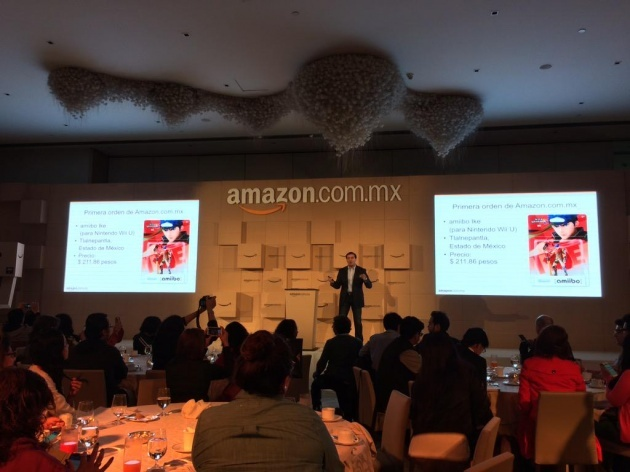 Image for First Amazon México Physical Product was an amiibo