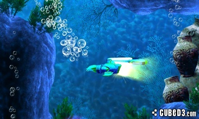 Screenshot for Sonic Boom: Fire & Ice on Nintendo 3DS