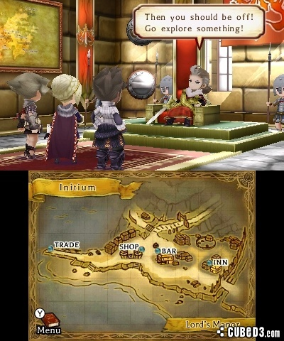 Screenshot for The Legend of Legacy on Nintendo 3DS