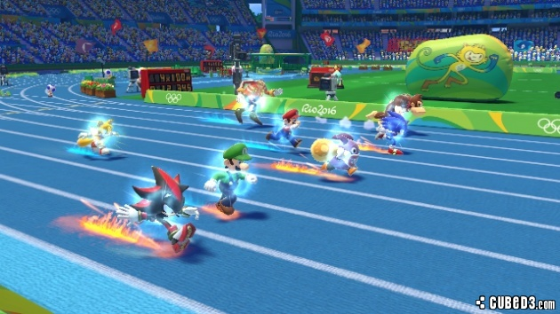 Screenshot for Mario & Sonic at the Rio 2016 Olympic Games on Wii U