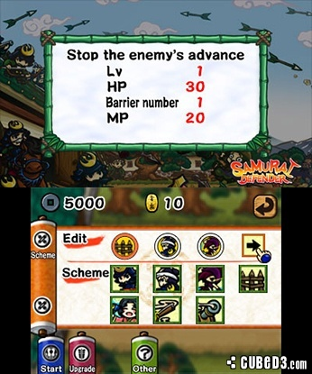 Screenshot for Samurai Defender on Nintendo 3DS
