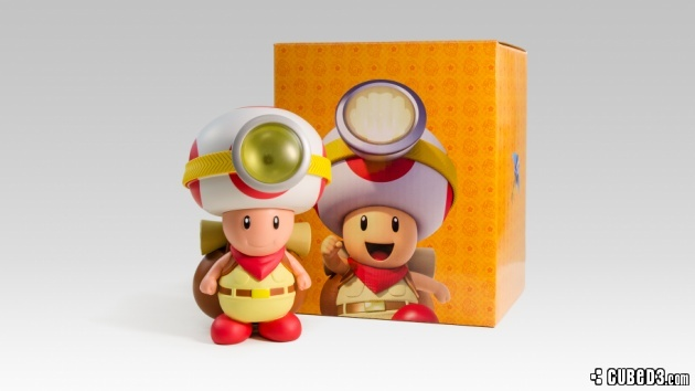 Image for Captain Toad Lights up Club Nintendo