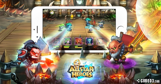 Screenshot for Allstar Heroes (Hands-On) on iOS