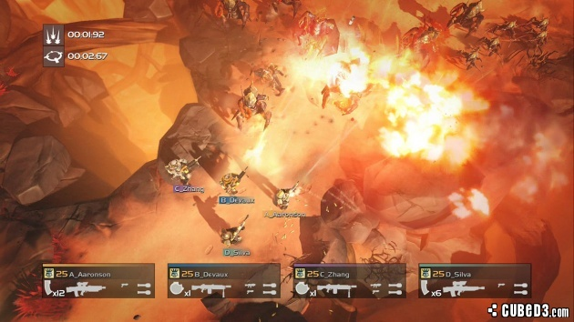 Screenshot for Helldivers on PlayStation 4
