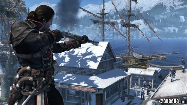 Screenshot for Assassin's Creed Rogue on PlayStation 3