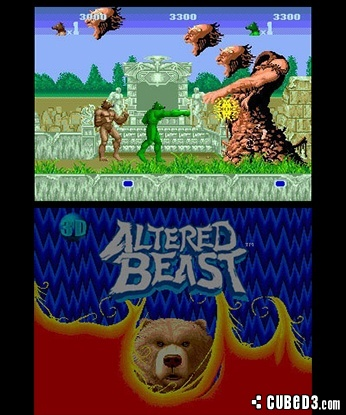 Screenshot for 3D Altered Beast on Nintendo 3DS
