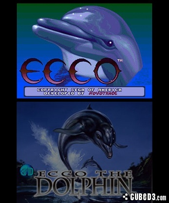 Screenshot for 3D Ecco the Dolphin on Nintendo 3DS