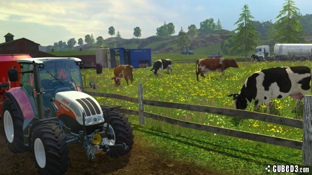 Screenshot for Farming Simulator 15 on PlayStation 4