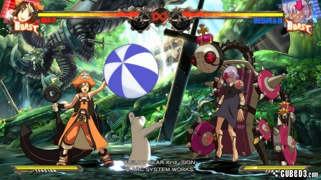 Screenshot for Guilty Gear Xrd -SIGN- on PlayStation 3