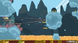 Screenshot for PixelJunk Shooter - click to enlarge