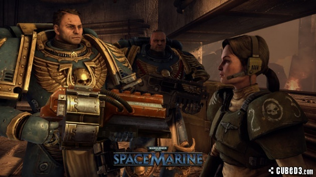 Screenshot for Warhammer 40,000: Space Marine on PC