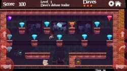 Screenshot for Dangerous Dave in the Deserted Pirate
