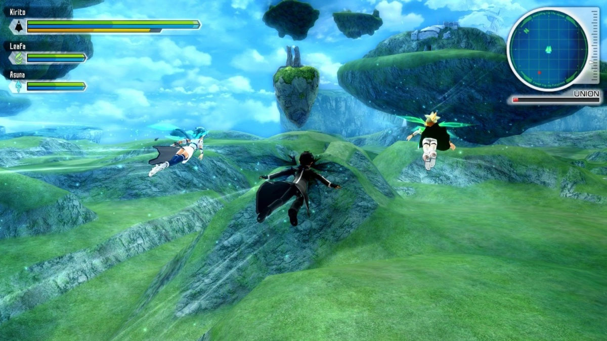 Screenshot for Sword Art Online: Lost Song on PlayStation 4