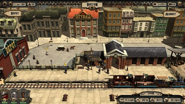 Screenshot for Bounty Train on PC