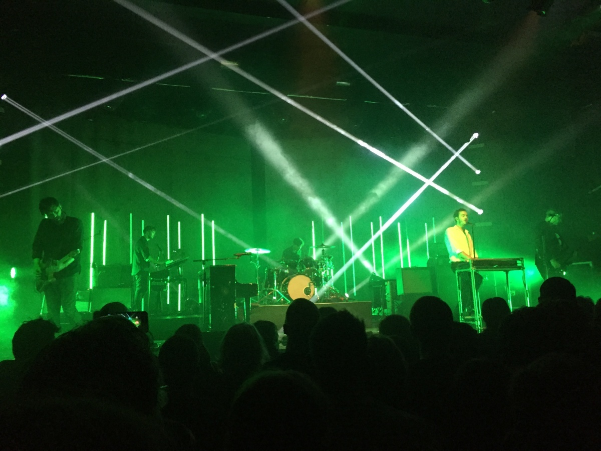 Image for Event Review | Editors at Manchester Academy (MusiCube)