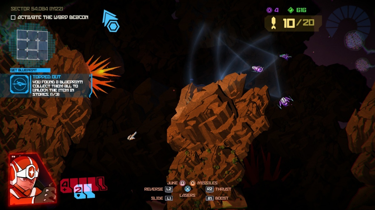 Screenshot for Galak-Z: The Dimensional on PlayStation 4