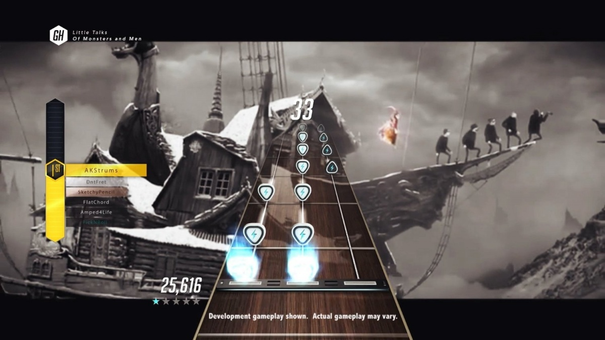 Screenshot for Guitar Hero Live on PlayStation 4