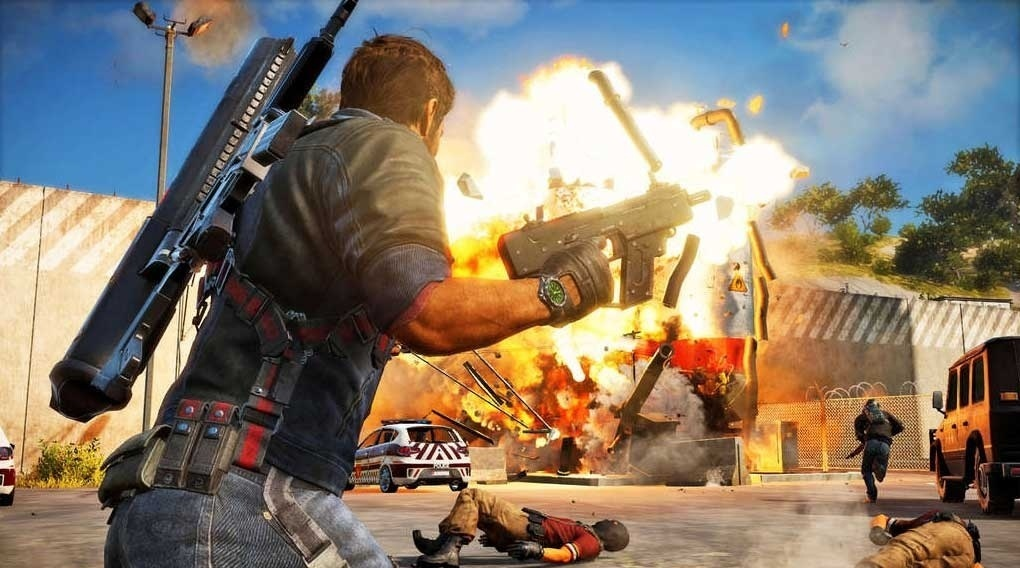Screenshot for Just Cause 3 on Xbox One