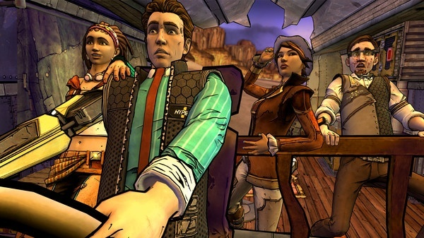 Screenshot for Tales from the Borderlands on PC