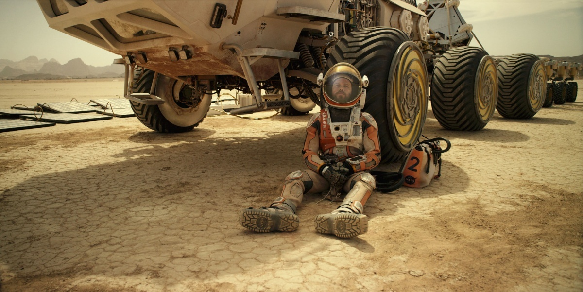 Image for Movie Review | The Martian (Lights, Camera, Action!)