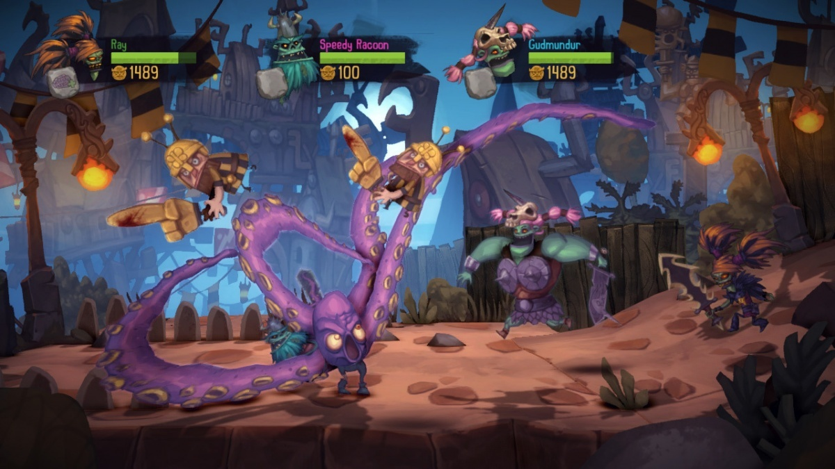 Screenshot for Zombie Vikings on PlayStation 4