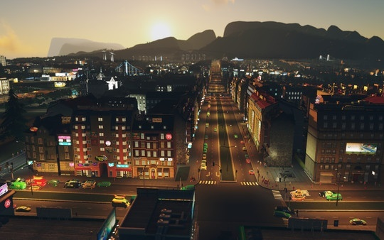 Screenshot for Cities: Skylines - After Dark on PC
