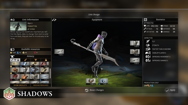 Screenshot for Endless Legend: Shadows on PC