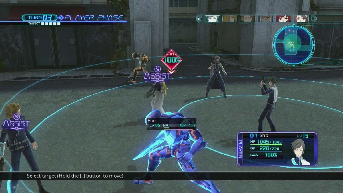 Screenshot for Lost Dimension on PS Vita
