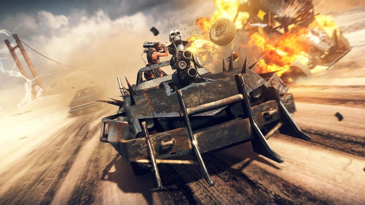 Screenshot for Mad Max on PlayStation 4
