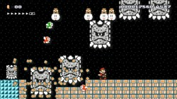 Screenshot for Mario Maker (Hands-On) - click to enlarge