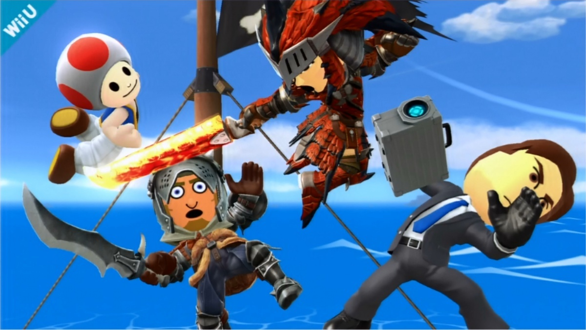 Image for Smash Bros. DLC: Pirate Stage Returns, Monster Hunter Outfits Join the Fray