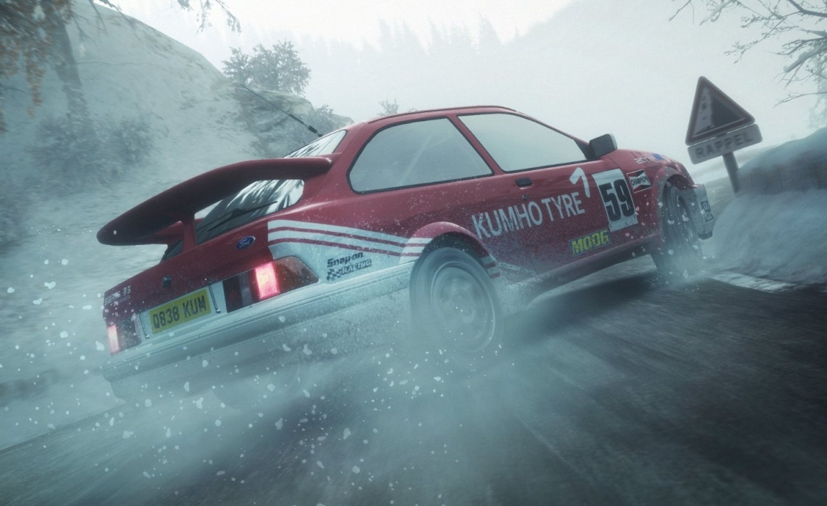 Screenshot for DiRT Rally on PlayStation 4