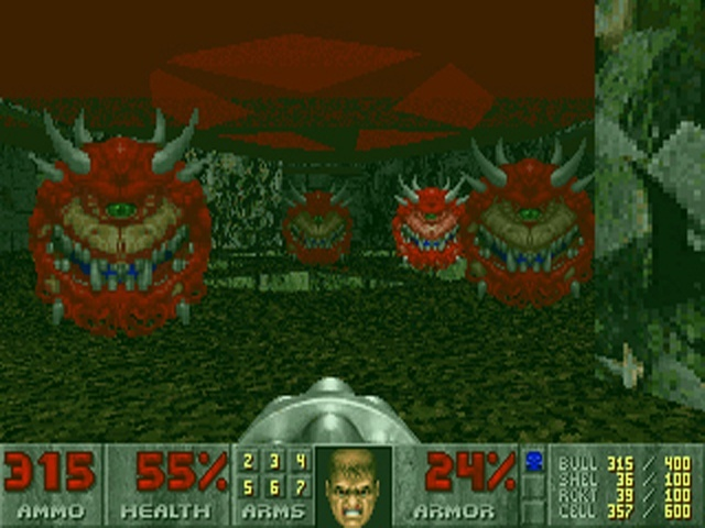 Screenshot for Doom (1993) on PC