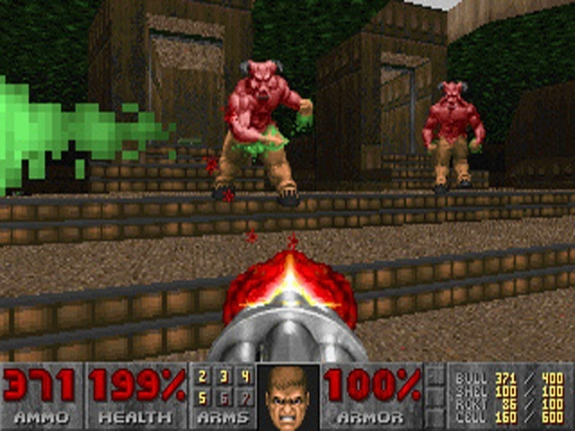 Doom 1993 Pc Screens And Art Gallery Cubed3