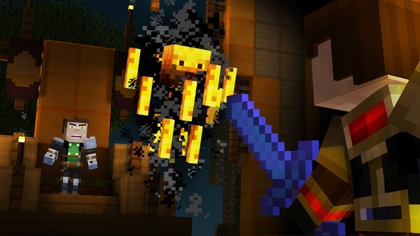 Screenshot for Minecraft: Story Mode - Episode 5: Order Up! on Xbox One