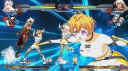 Screenshot for Nitroplus Blasterz: Heroines Infinite Duel  - click to enlarge